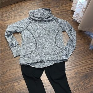 Series 8 Fitness Outfit. Leggings Thumb Hole Shirt